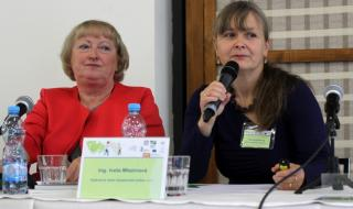 Ing. Lenka Svobodová, Ing. Iveta Mlezivová (zleva)