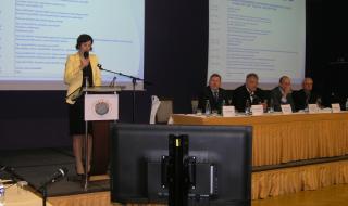 Zahájení odborného shromáždění Ing. Jitkou Jochovou z Ministerstva obrany