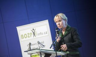 Dr. Christa Sedlatscheková, ředitelka Evropské agentury pro BOZP
