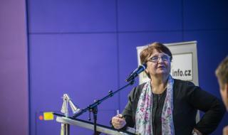 Bc. Libuše Bělohlávková z Rady vlády pro BOZP