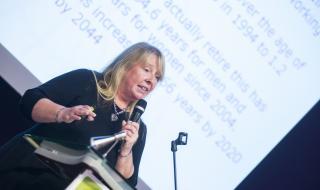 Dr. Joanne Crawford, IOM (organizace poskytuje zdravotnické služby na pracovišti, poradenství a provádí výzkum) Velká Británie