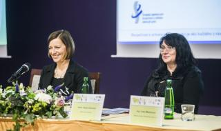 MUDr. Vladimíra Lipšová, SZÚ Praha a PhDr. Petra Vávrová, ReFit Clinic Olomouc (zleva)