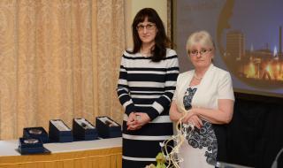 hlavní hygienička Eva Gottvaldová (vlevo) a ředitelka SZÚ Jitka Sosnovcová