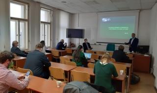setkání pracovníků VÚBP se zástupci médií 5. května 2020 ve VÚBP